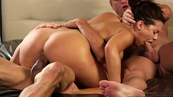 Stepdad and uncle got invited by Keisha Grey - Fantasy Massage