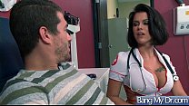 (Peta Jensen) Slut Horny Patient Seduce Doctor And Bang Hard Style clip-28