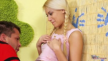 Teenyplayground Hot blonde babysitter fucked by house owner very hard