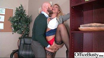 Hard Sex Action With Slut Big Tits Office Girl (Cherie Deville) video-30