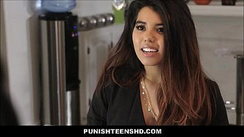 Latina Teen Leila Severine Punish Fucked