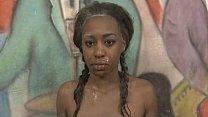 Black Ghetto Slut Simone Styles Very Roughly Fucked In Threesome