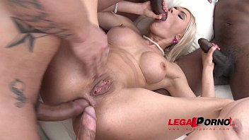 Luxury bitch Kitana Lure Double anal plus ass fucked by guys Balls - WTF!