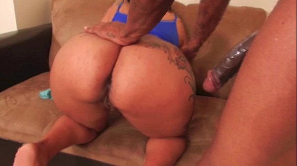 Big Booty Black MILF Takes Big Cock
