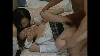 Japanese Love Story || Japanese Mom Seduce roundass Daughter to fuck her friend