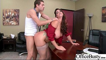(Alison Tyler) Round Huge Tits Office Girl Enjoy Hard Intercorse clip-02 7 min