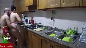 Eating your pussy and ass in the kitchen.RAF013