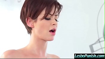 (Emily Addison & Violet Starr) Lesbo Girl Get Punish Using Toys By Mean Lez Clip-10