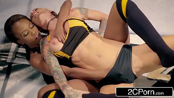 World Slut Title Wrestling Match - Jezabel Vessir vs Sarah Jessie