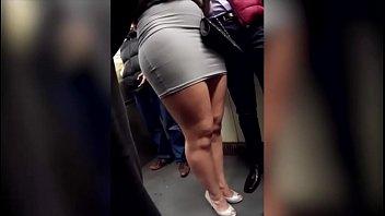 ass groping train