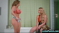 (Phoenix Marie & Richelle Ryan) Lez Girl Get Punish With Sex Toys By Mean Lesbo movie-30