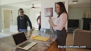 Realtor ass fucked by big black cocks