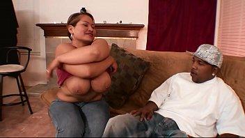 Big boobs of chubby teen asian 4 huge black cock in interracial fuck 4 facial