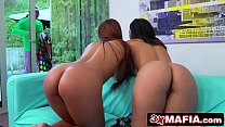 Bored Rich Bitches Gala Brown & Claudia Bavel Seduce Sneaky House Worker