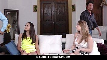 DaughterSwap - Hot Daughters (Avi Love) (Harley Jade) Fuck Dads For Money
