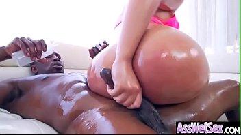 (Assh Lee) Slut Girl With Big Oiled Butt Get Hard Anal Sex movie-09 7 min