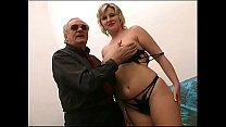 Chubby and cute blonde shagged by a hard cock