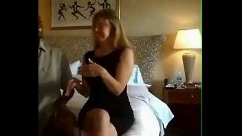 Pretty whore in interracial porn