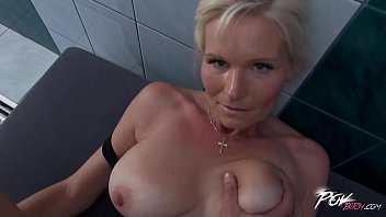 Povbitch Busty milf cleaning lady was bad & punished hard with big cock