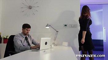 Private.com - Barbara Bieber Puts the Squeeze on Her Boss