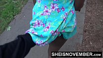 HD Risky Street POVBlowjob By BlackFreak Msnovember Sucking Strangers Cock For Attention on Sheisnovember Video
