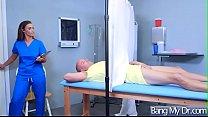 Cute Patient (Kelsi Monroe) Seduced By Doctor Get Sex Treat vid-13