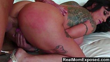 RealMomExposed - Beautifully tattooed and horny Deja Voo.
