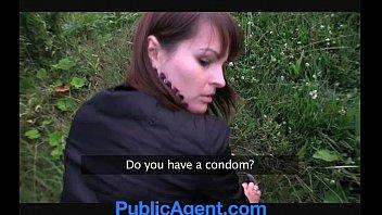 PublicAgent Rita and her big bouncing boobs