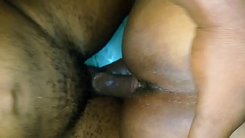 Sliding my cock in her rotten cunt doggy style close up