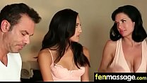 Gorgeous Skinny gets a massage 7