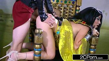 Egyptian Goddess Rina Ellis Loves Big Cock