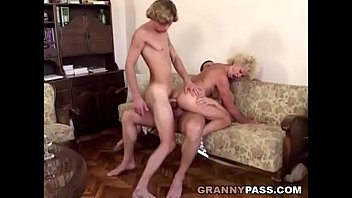 Granny Double Penetration 7 min