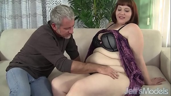 Fat ass Cherie A Lunas spreads her cheeks while being fucked