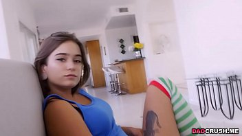 Flirty teen Pamela send nudes pics to stepdad