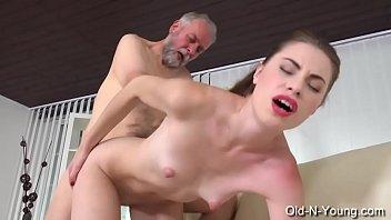 Old-n-Young.com - Ilona C - Young Escort Fucks Him