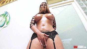 Latin MILF Ms Raquel Sucks Cock with Dildo in ASS