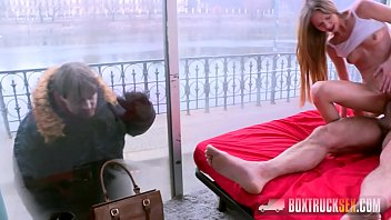 Amazing Paris Devine Cheats on her Boyfriend while He is Outside