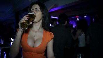 sexiest drinking ever in bar
