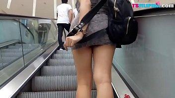 Public Amateur Busty TS Filipina Sexy Shemale