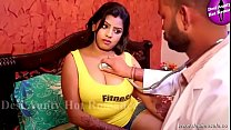 desimasala.co  - Tharki doctor cheating romance with big boob aunty (huge boobs show)