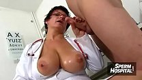 Mistress Angellica a hairy mom has lots of fun with a squirting mom