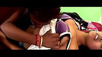 desimasala.co -  Horny girl smooching navel kiss romance on bed