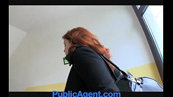 PublicAgent Married redhead Does Anal in the Cellar