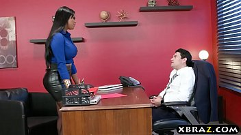 Headhunter is a very persuasive latina MILF with big curves