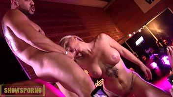 b. pornstars orgy brunettes and blondes