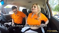 Driving student pounded by instructor