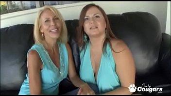 Lesbian Mature Women Erica Lauren & Jessica Dvine Eating Pussy