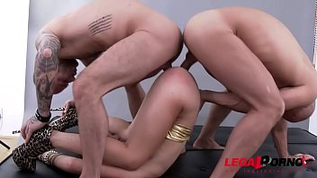 Watch Tiffany Doll get assfucked and DP'ed by 4 Big Cocks