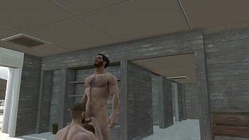 Fallout - Sucking Paladin Danse Big Uncut Cock