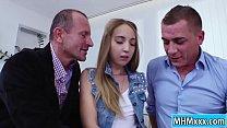 Anya Akulova gets a double penetration 5 min